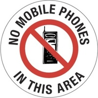 No Mobile Phones in This Area