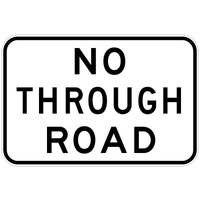 No Through Road