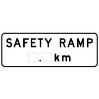 Safety Ramp __km