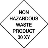 270x270mm - Magnetic - Non Hazardous Waste Product 30XY
