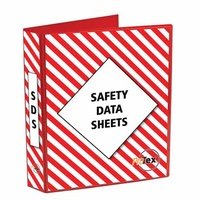 Safety Data Sheet Binder Red/White