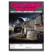 Cold Milling log book A5