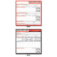 Crash Info Card DL 10 Pack