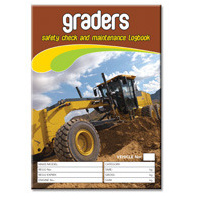 Graders log book A5