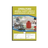 Operators General log book A4