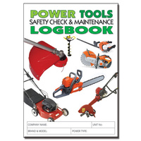Power Tools log book A5