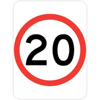 20 Speed Restriction