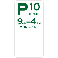 10 Minute Parking