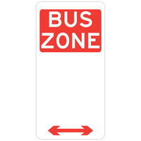 Bus Zone (Double Arrow)