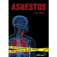 A3 Laminated Safety Poster - Asbestos, the Killer...