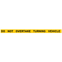 Do Not Overtake Turning Vehicle