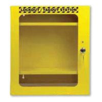 Metal Lockable Lockout Station (Wall Mount) With Clear Door