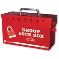 Red Group Lock Box (12 Lock)