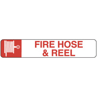 300x100mm - Self Adhesive - Fire Hose Reel (with pictogram)