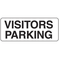 450x200mm - Metal - Visitors Parking