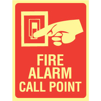 Fire Alarm Call Point (With Picto) - Luminous