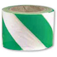 Barrier Tape - Green and White (100m)