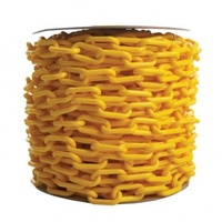 Plastic Yellow Chain