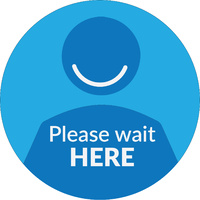 Please Wait Here Floor Decal_450x450_Carpet