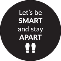 Stay Apart Floor Decal