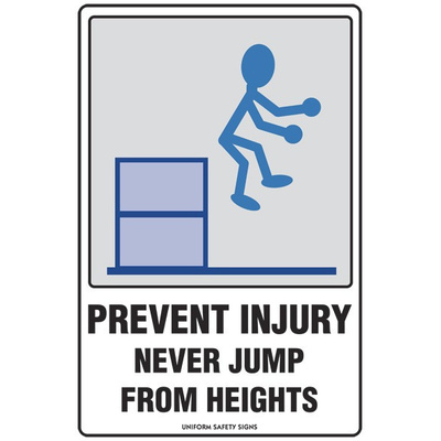 Prevent Injury Never Jump From Heights