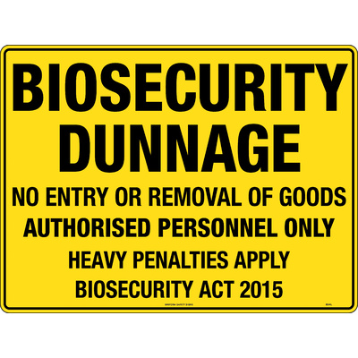 Biosecurity Dunnage