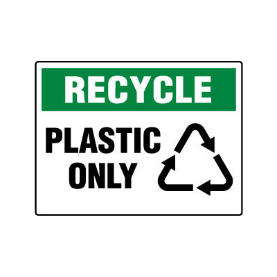 Recycle Plastic Only